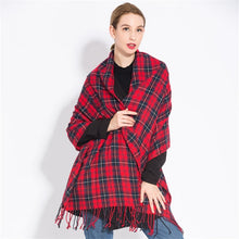 Load image into Gallery viewer, Plaid scarf