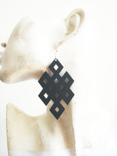 Sacred Geometry The Unbreakable Knot Earings