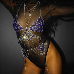 Backless Rave Body Chain