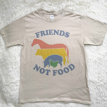 Load image into Gallery viewer, Friends Not Food Vintage T-shirt