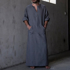 Mens Kaftan Robe