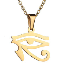 Load image into Gallery viewer, Ancient Egyptian Eye of Horus Amulet Necklaces