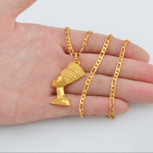 Load image into Gallery viewer, Queen Nefertiti Pendant Necklaces