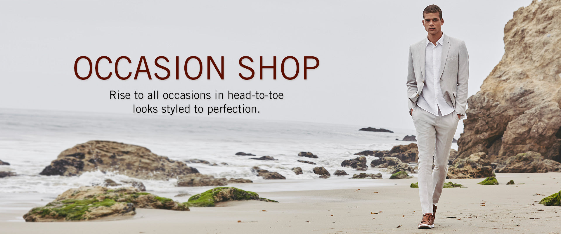 OCCASION SHOP - Rise to all occasion in head-to-toe looks styled to perfection.