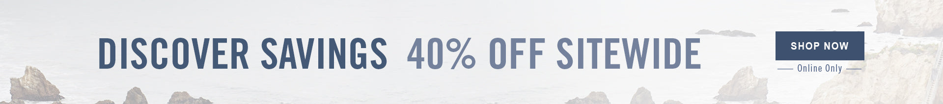 40% OFF SITEWIDE - SHOP NOW