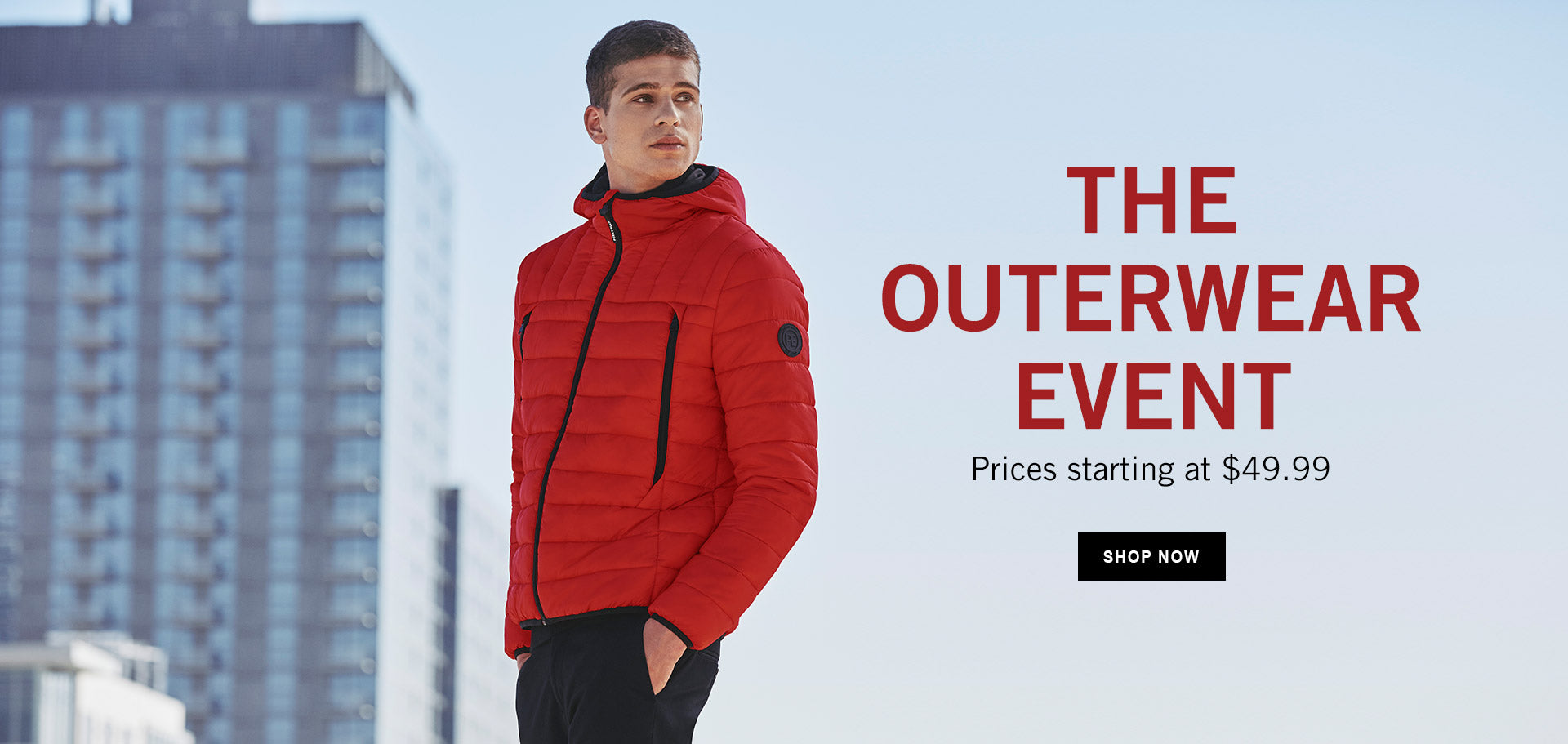 OUTERWEAR - SHOP NOW