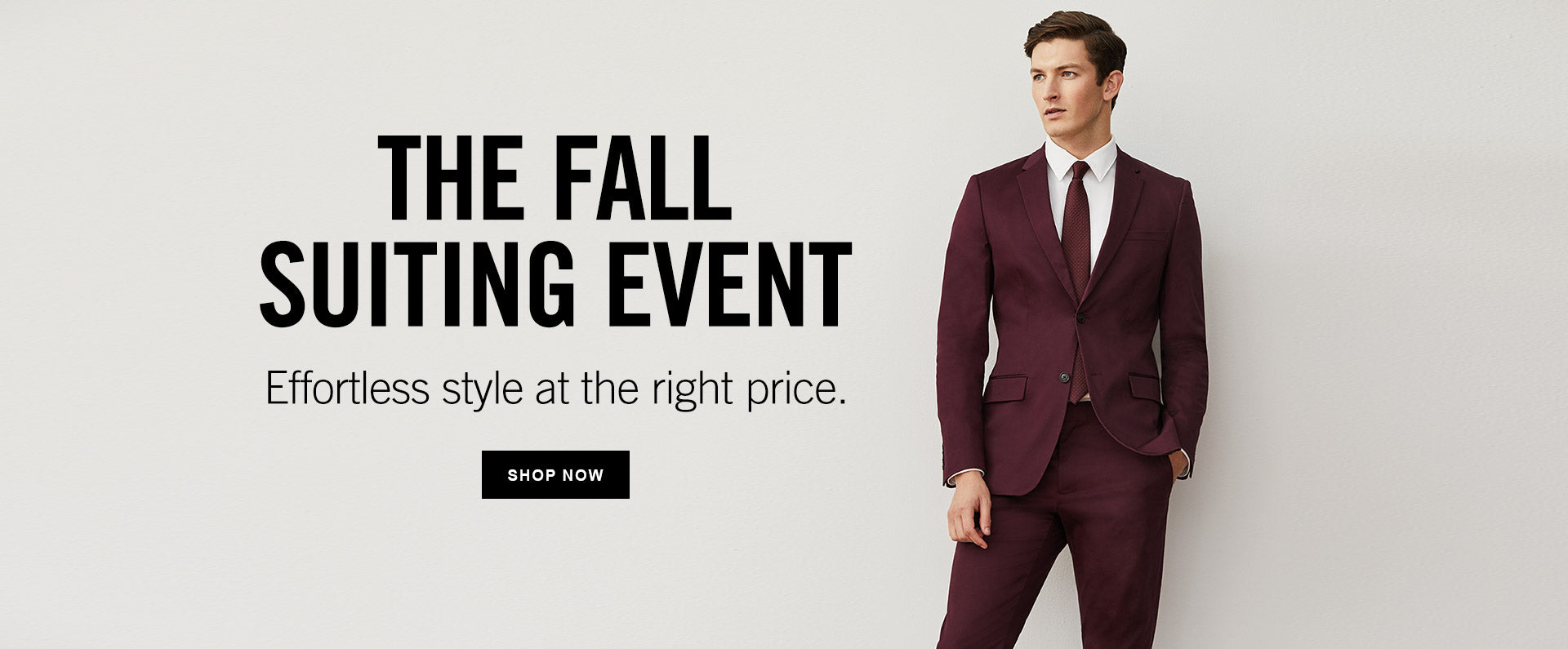 SUITING EVENT - SHOP NOW