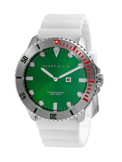Deep Diver Emerald Silicon Watch Emerald / NS