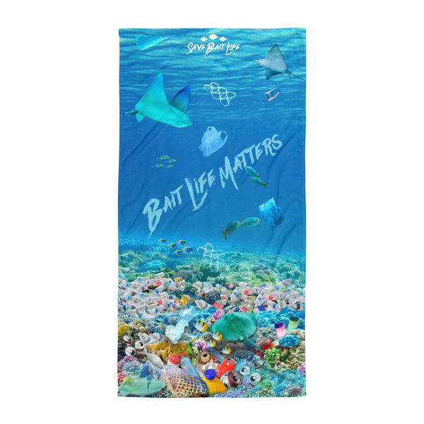 Stingrays Beach Towel