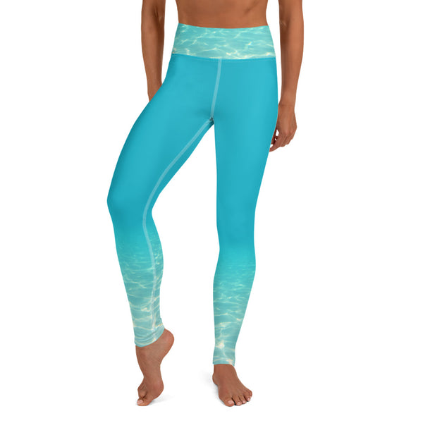 These yoga pants of the sea are pictured  free of any plastic or toxic materials. Designed by Sushila Oliphant, Save Bait Life, LLC.