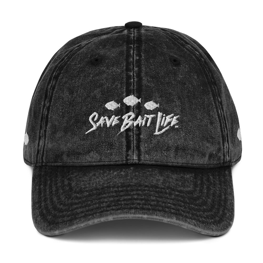 Save Bait Life sporty vintage caps by Sushila Oliphant for Save Bait Life.