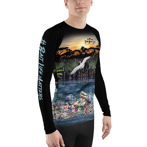 Nature in Chaos - Men's Rash Guards