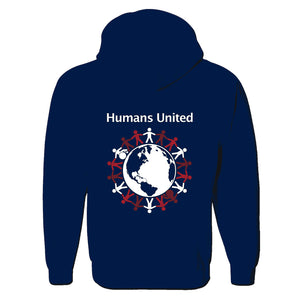 """Humans United"" Full-Zip Hoodie"