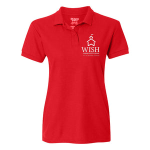 Community School Logo Fitted Polo