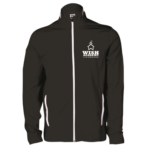 WISH Academy High School Full Zip Sport Jacket