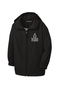 WISH Academy High School Hooded Water-Repellent Jacket