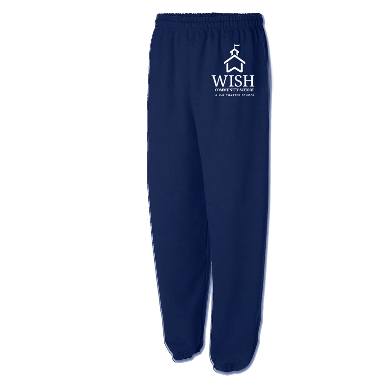 WISH Community Sweatpants [Blue]
