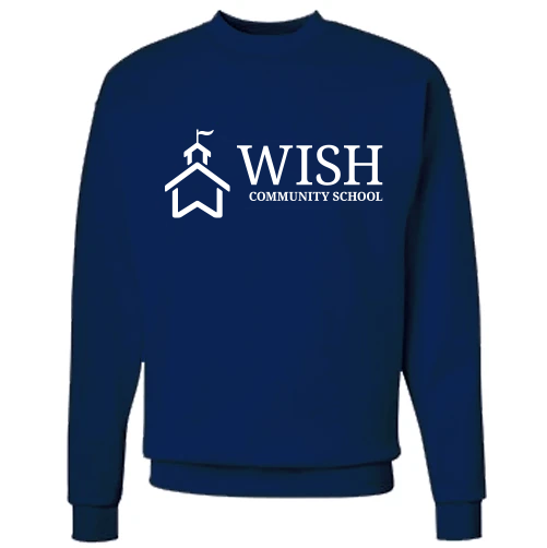 WISH Community School Crewneck Sweatshirt