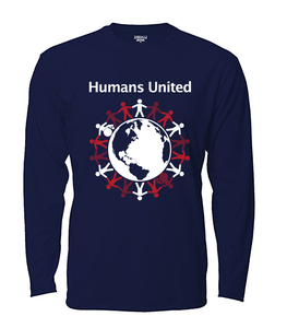 """Humans United"" Long Sleeved T-shirt"