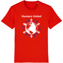 "Load image into Gallery viewer, ""Humans United"" T-shirt"