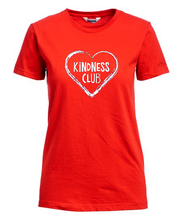 "Load image into Gallery viewer, ""KiNDNESS Club"" FITTED T-Shirt ""Inspire Kindness in the World""... Adrien Murphy"