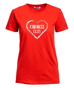 """KiNDNESS Club"" FITTED T-Shirt ""Inspire Kindness in the World""... Adrien Murphy"
