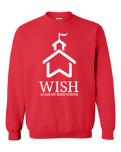 "Load image into Gallery viewer, WISH Academy High School ""Big House"" Crewneck Sweatshirt"