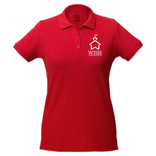 Load image into Gallery viewer, WISH Academy Fitted Polo with School House