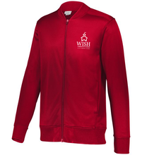Load image into Gallery viewer, WISH MIDDLE School Full Zip Sport Jacket w/o white stripe