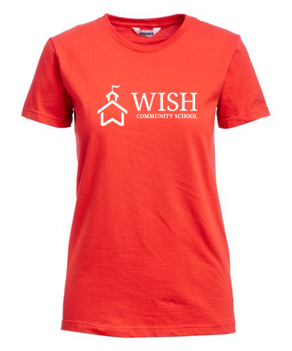 WISH Community Fitted T-Shirt