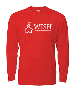 WISH Community Long Sleeved T-Shirt