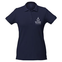 Load image into Gallery viewer, Community School Logo Fitted Polo