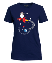 "Load image into Gallery viewer, ""WISH is Out of this World"" Fitted T-Shirt"