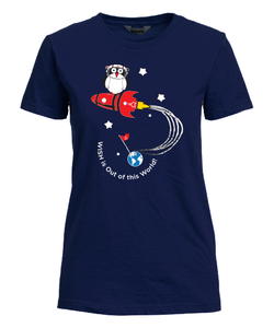 """WISH is Out of this World"" Fitted T-Shirt"