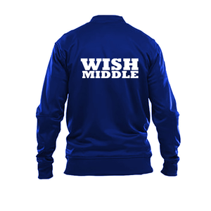 WISH MIDDLE School Full Zip Sport Jacket w/o white stripe