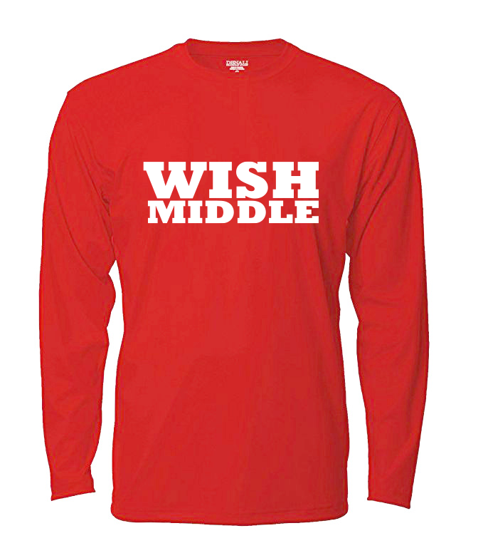 WISH Middle Long Sleeved T-Shirt