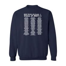Load image into Gallery viewer, 8th Grade Class of 2021 Crewneck Sweatshirt
