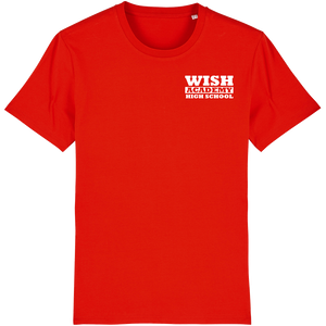 WISH Academy High School POCKET T-Shirt (***Black ONLY Approved for P.E. ***)