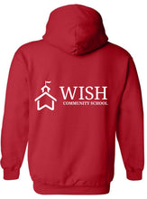 Load image into Gallery viewer, WISH Community School Full-Zip Hoodie Sweatshirt