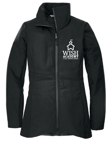 WISH Academy High School Insulated Jacket (FITTED) -- Style B