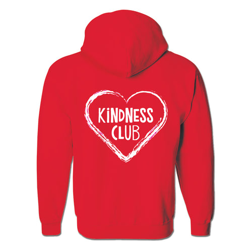 Kindness Club Hoodie with Zipper