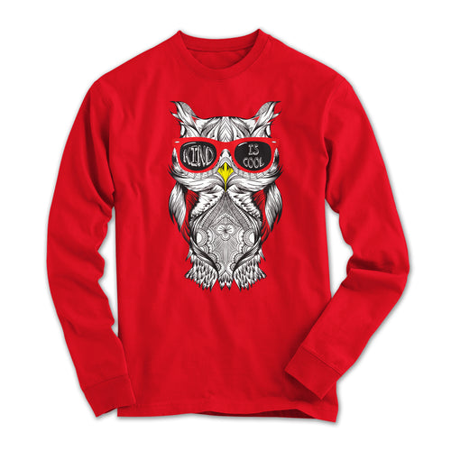 Cool Owl Long Sleeved Shirt