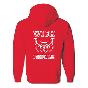 Middle School Full-Zip Hoodie Sweatshirt (MS)