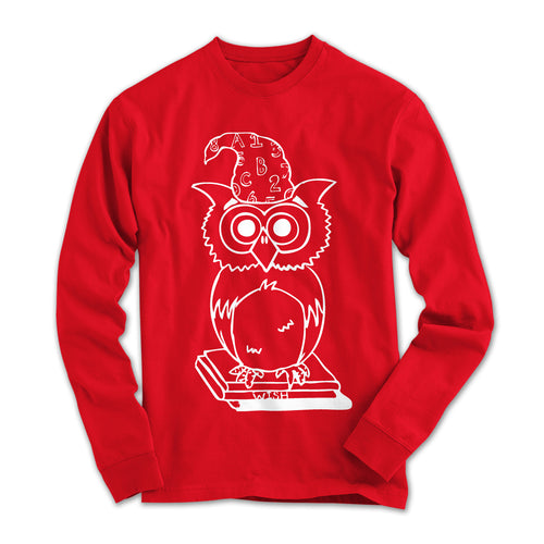 Owl Logo Youth Long Sleeved T-shirt