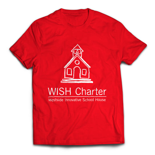 Schoolhouse Logo T-Shirt (Red)