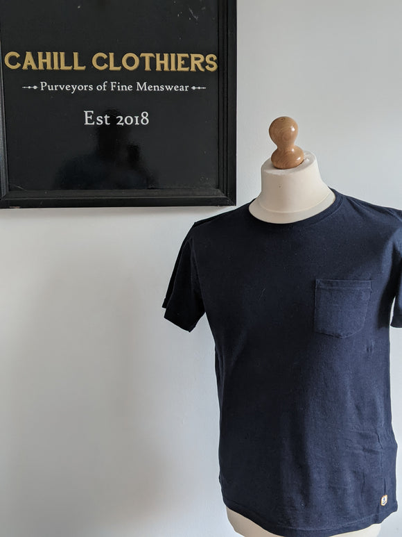 Armor Lux Heritage Pocket T Shirt - Navy