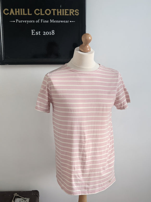 Armor Lux Sailor Shirt Pink/White