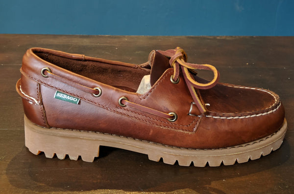 Sebago Ranger Moccasin - Waxy Brown