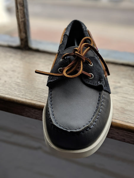 Sebago Docksides Portland Leather Deck Shoe