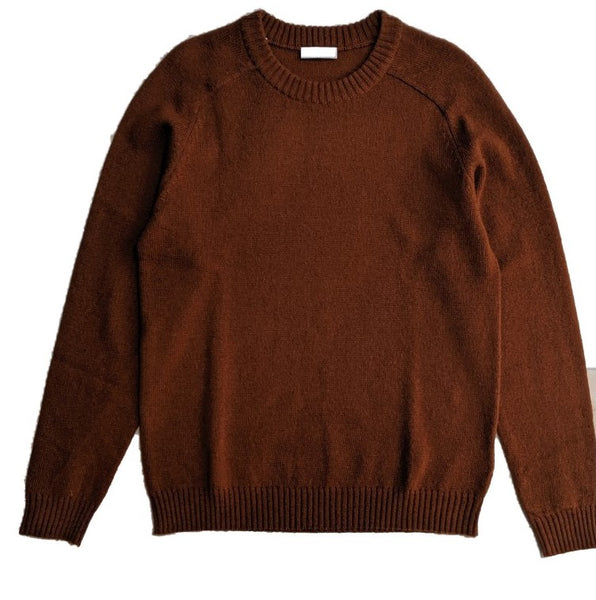Selected Saddle Shoulder Jumper Rust